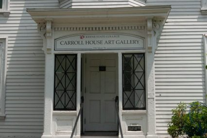 Carroll House Art Gallery entrance