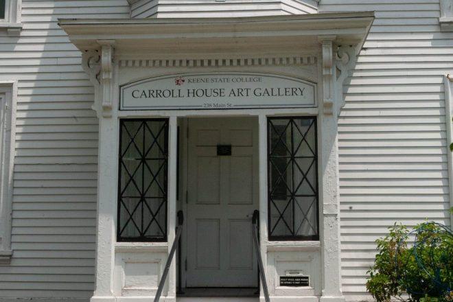 Carroll House Art Gallery entrance