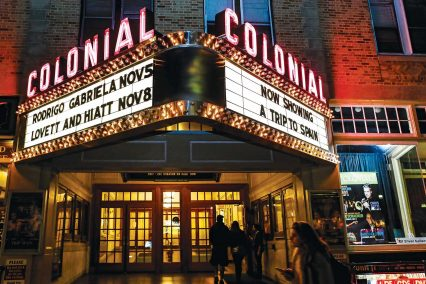 Colonial Theater Entrance
