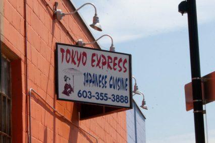 Tokyo Express sign