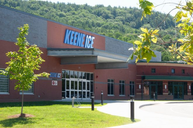 Keene Ice entrance