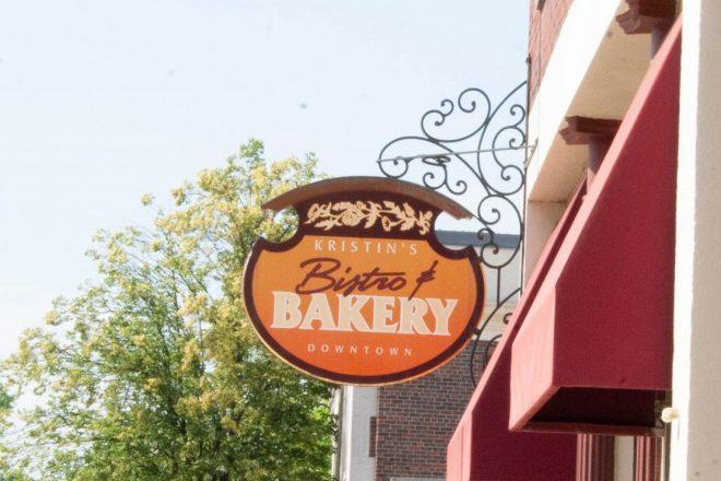 Kristin's Bistro & Bakery sign
