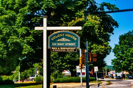 Colony House Sign