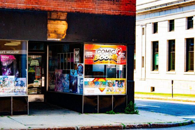 Comic Boom store entrance