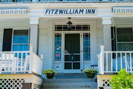 Entrance of Fitzwilliam Inn