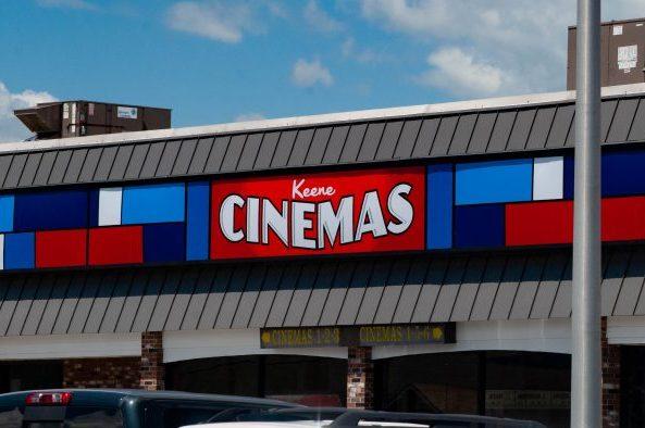 Keene Cinemas sign