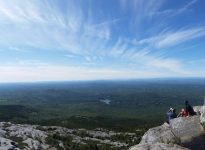 Top of Mount Monadnock view