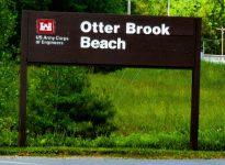 Otter Brook sign
