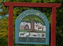 stonewall farm sign