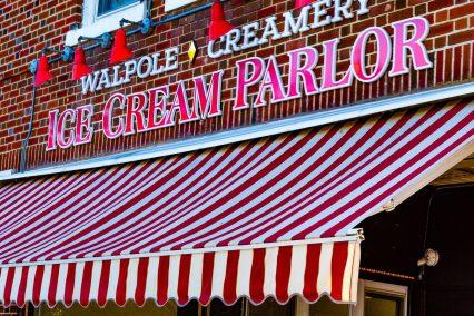 Walpole Creamery sign